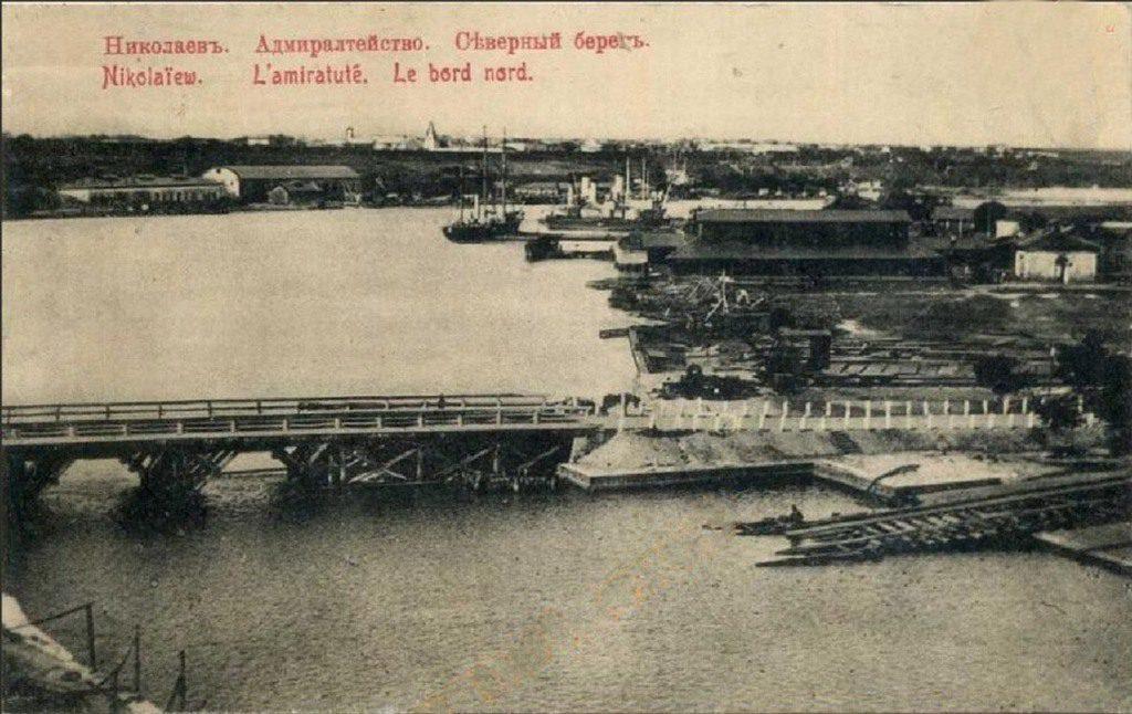 Адмиралтейство. Северный берег