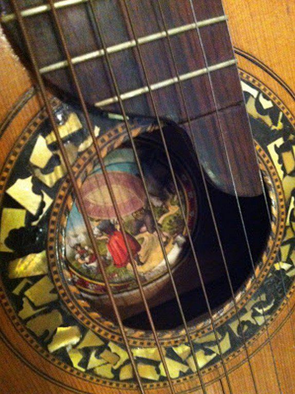 Дореволюционная гитара, сделанная в Николаеве (2)