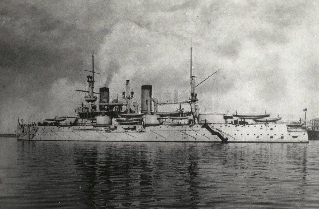 Эскадренный броненосец «Севастополь»