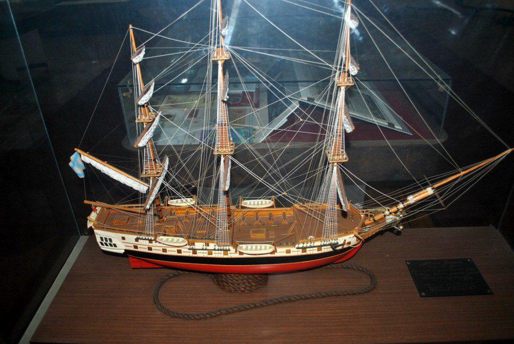 Модель фрегата «Святой Николай» в музее ЧСЗ