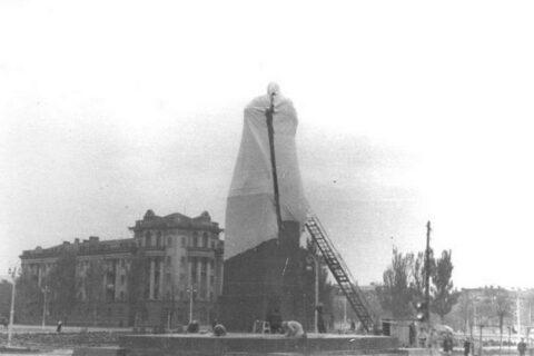 Открытие памятника Ленину (2)