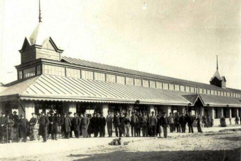 Павильон на Базарной площади