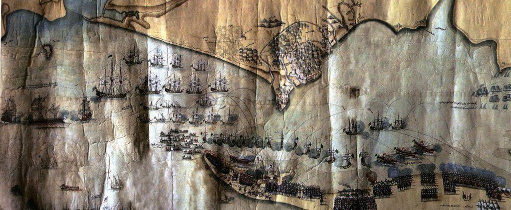 План боевых действий у Кинбурна (1787)