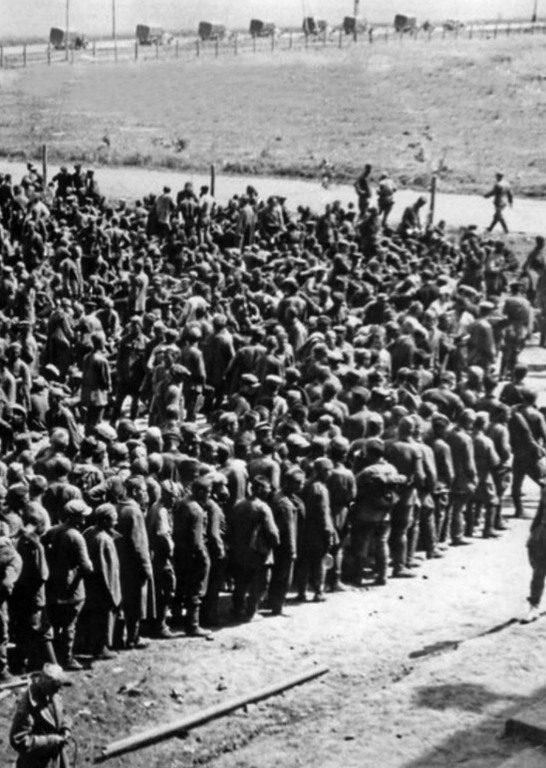 Сборный пункт для советских военнопленных (1941)
