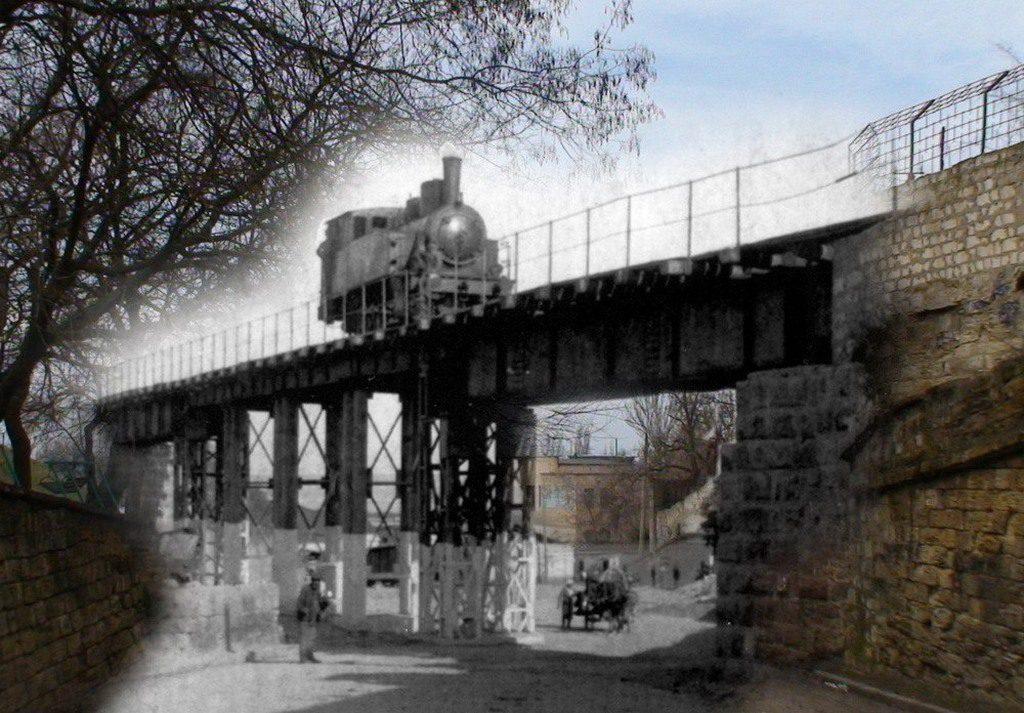 Улица Адмиральская (тогда и сейчас) (2)