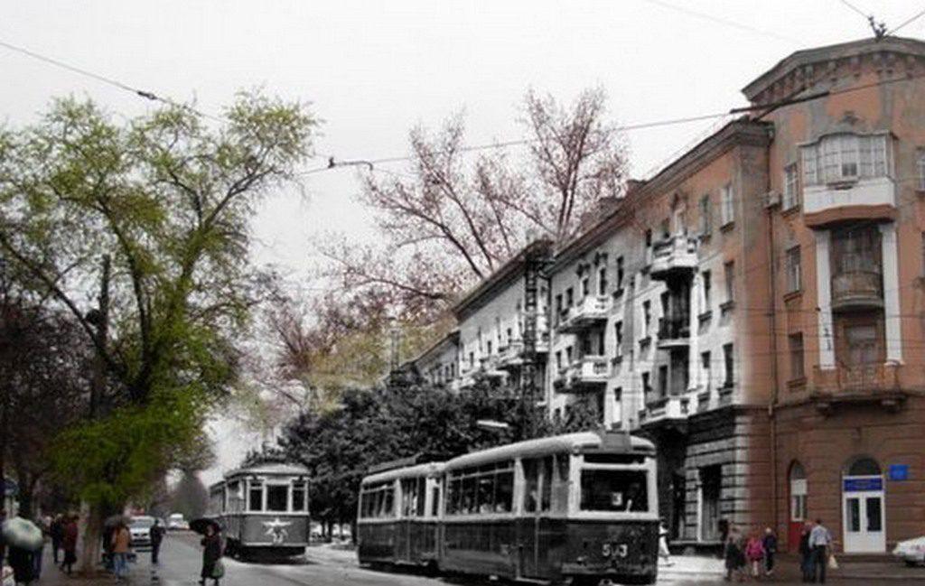 Улица Будённого (тогда и сейчас)
