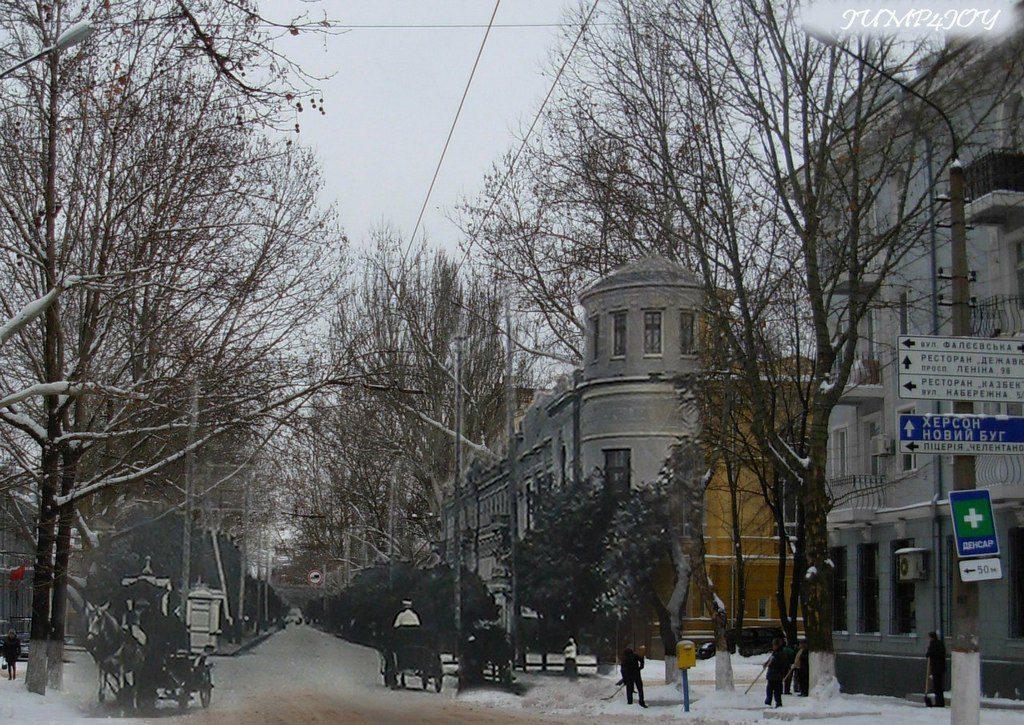 Улица Фалеевская (тогда и сейчас) (1)