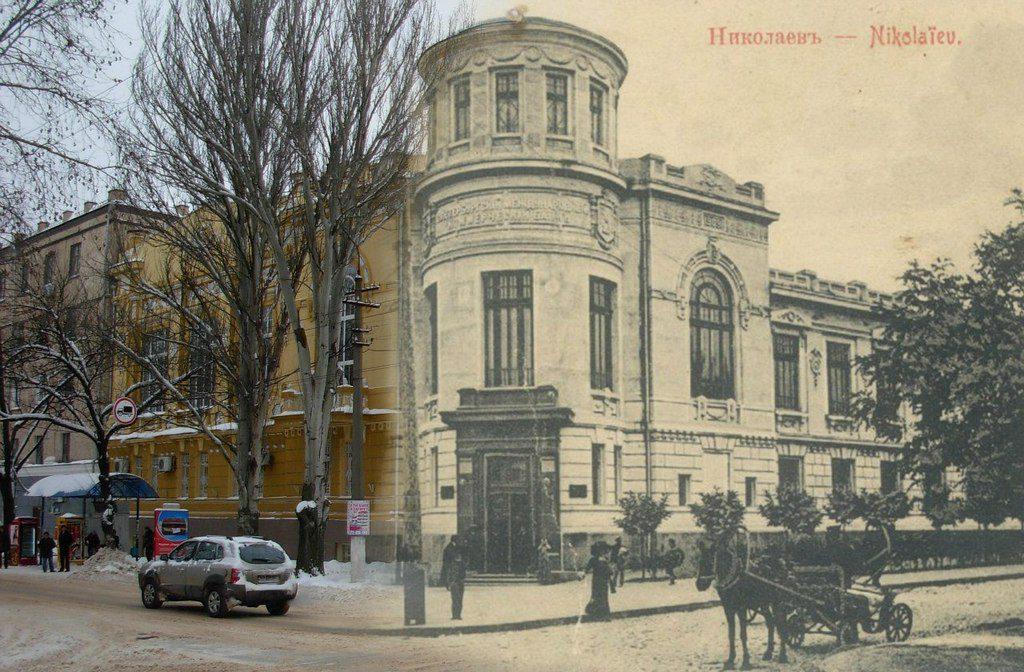 Улица Фалеевская (тогда и сейчас) (2)