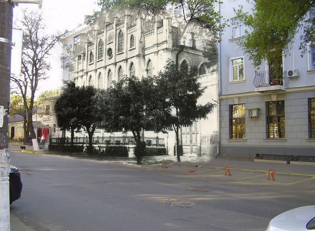 Улица Фалеевская (тогда и сейчас) (3)