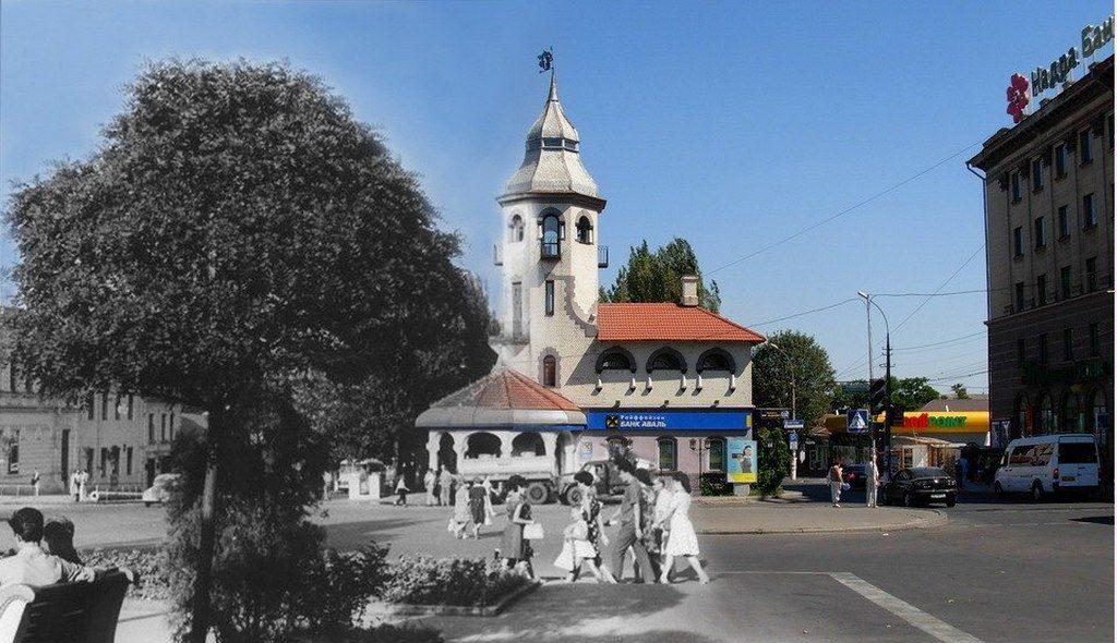 Улица Макарова (тогда и сейчас) (2)
