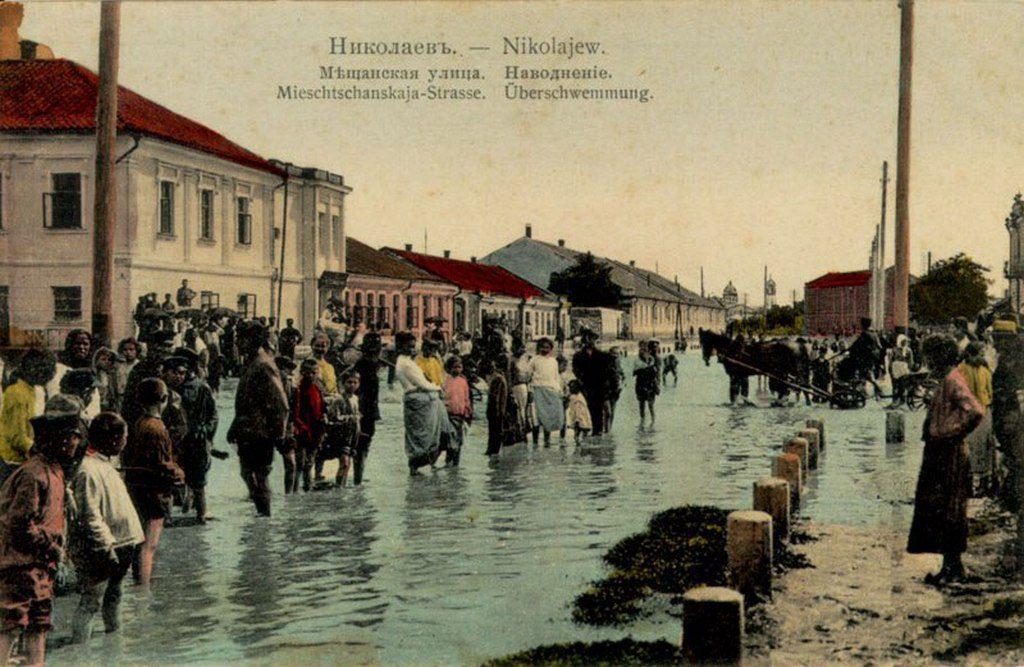 Улица Мещанская. Наводнение