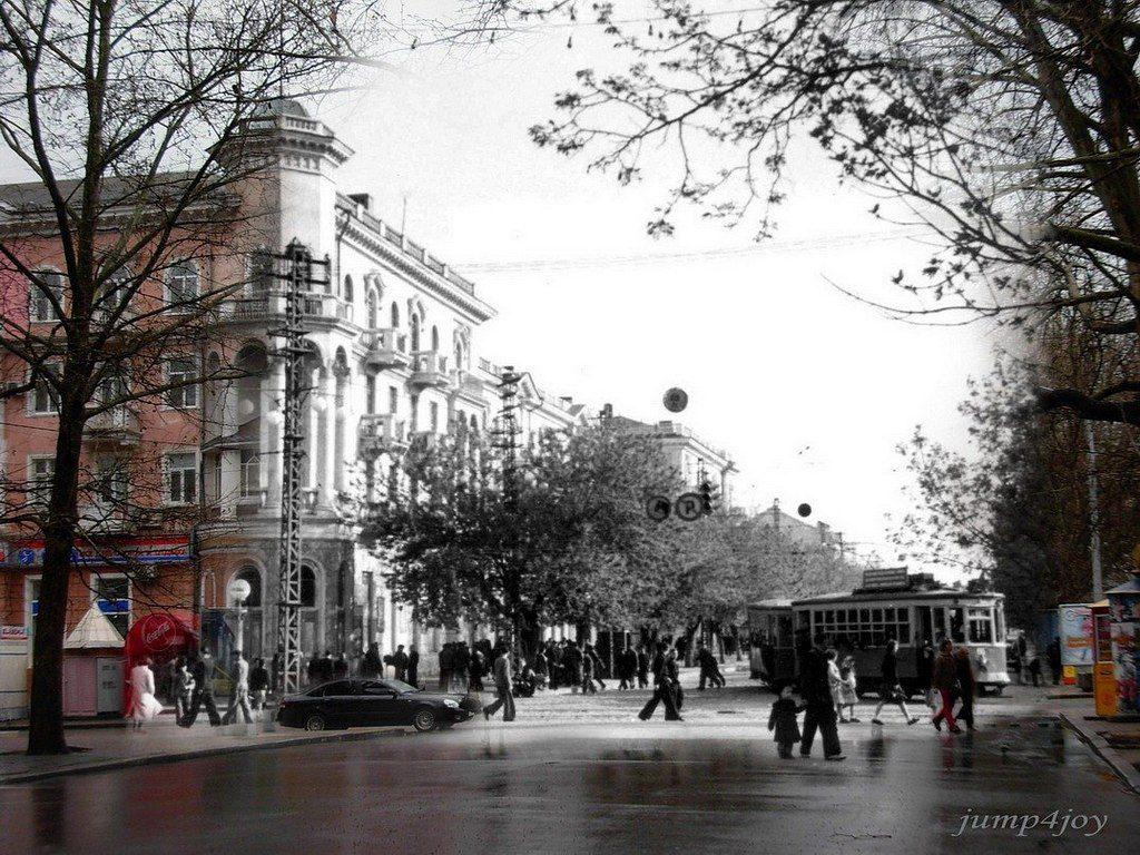 Улица Потёмкинская (тогда и сейчас) (1)