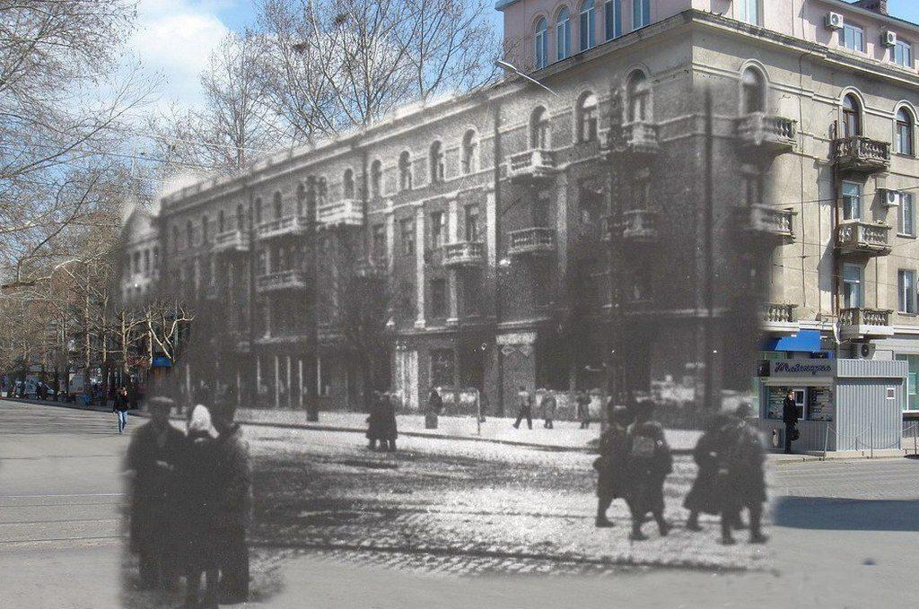 Улица Потёмкинская (тогда и сейчас) (2)