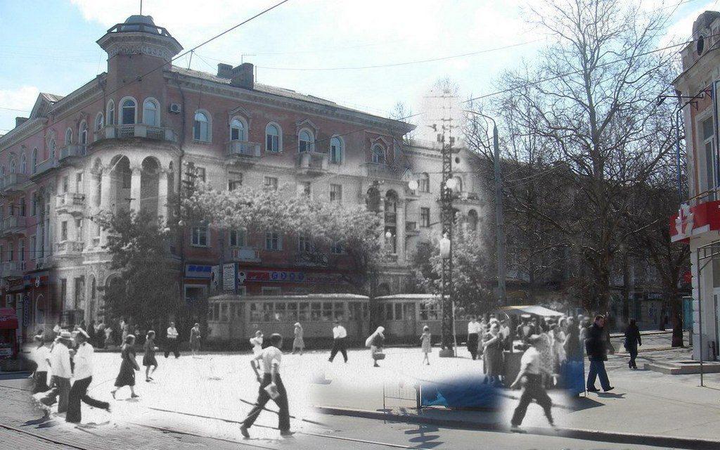 Улица Потёмкинская (тогда и сейчас) (3)