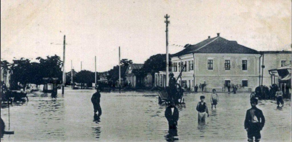 Улица Потёмкинская. Наводнение