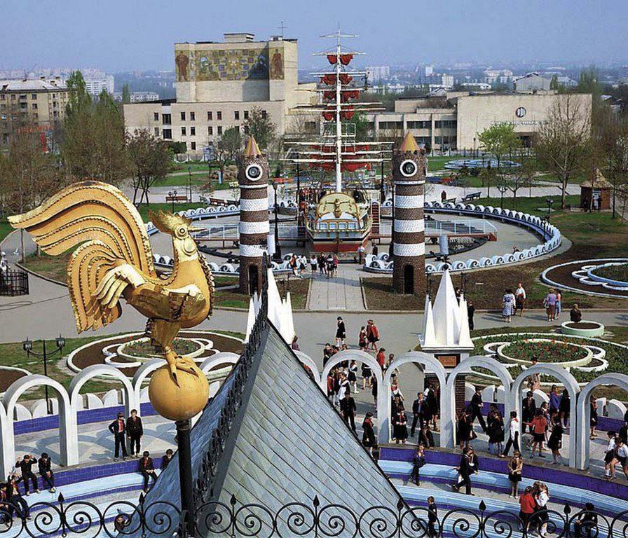 Вид на городок  «Сказка