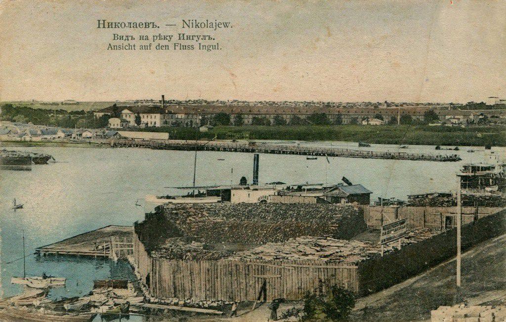 Вид на реку Ингул