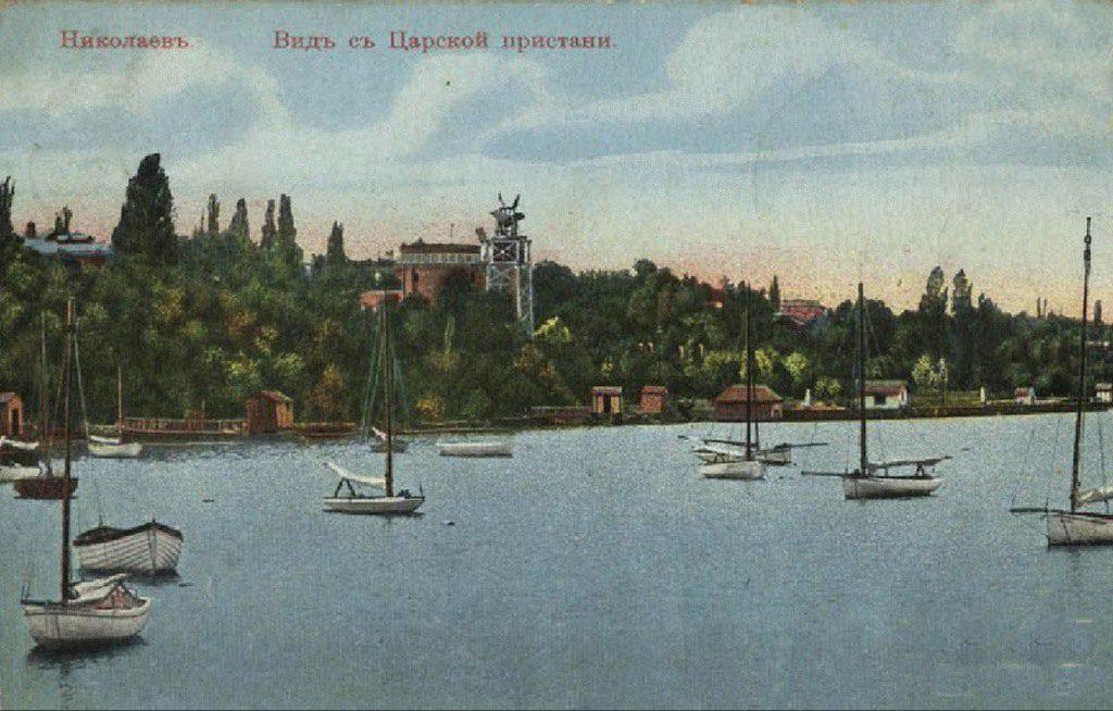 Вид с Царской пристани