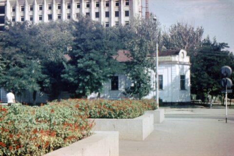 Здание старого зоопарка