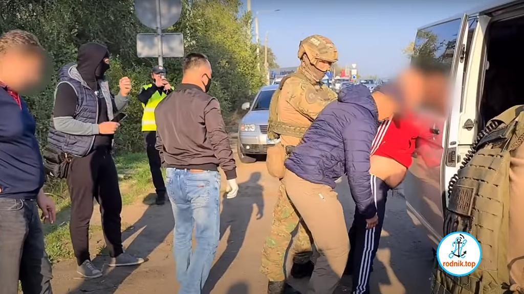 На въезде в Николаев задержана ОПГ