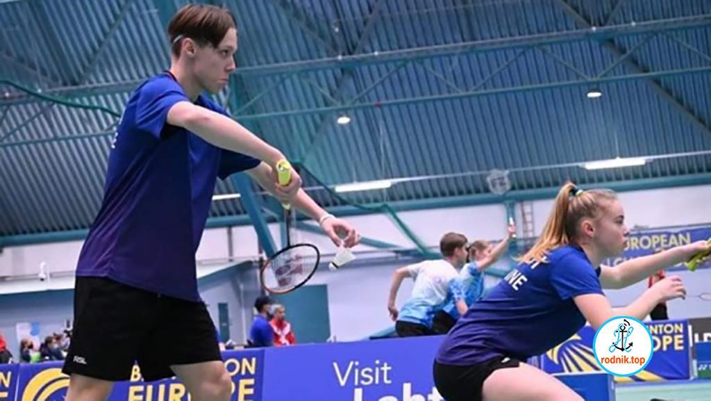 Николаевцы заняли пятое место на чемпионате Европы по бадминтону