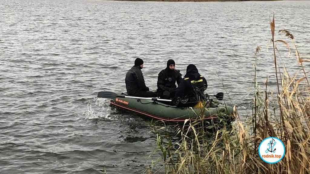 В Софиевском водохранилище нашли утонувшего рыбака