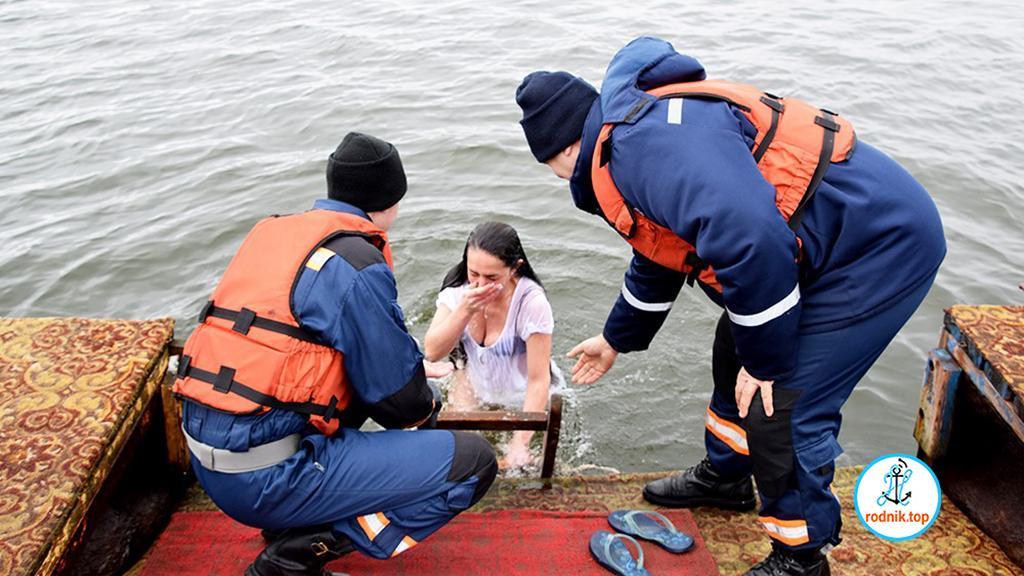 Николаевские спасатели рассказали о правилах крещенских купаний