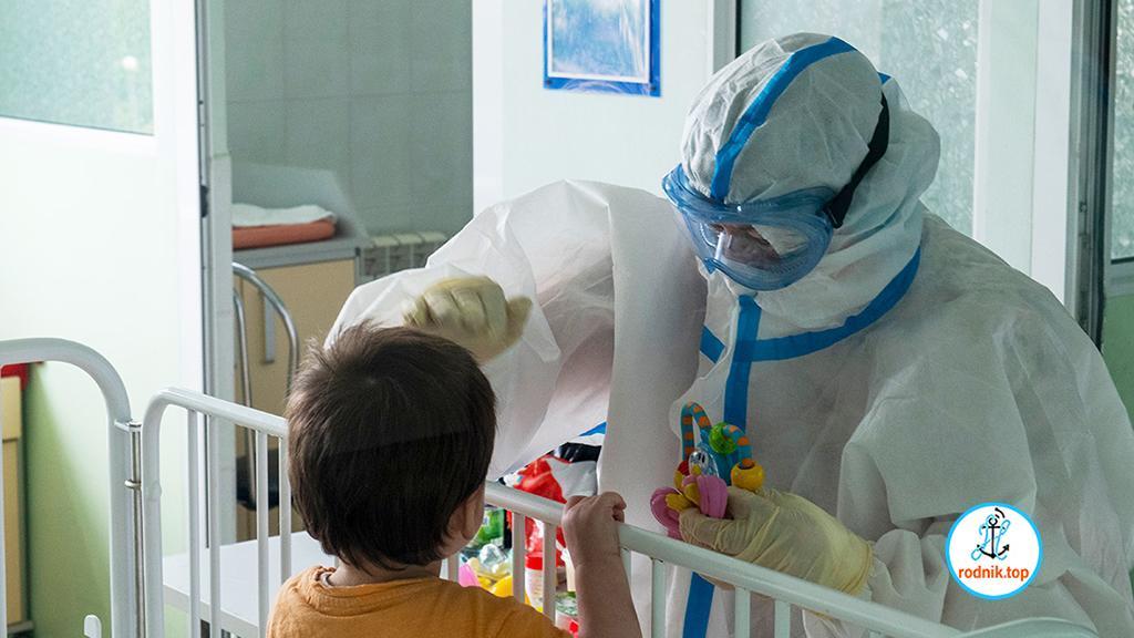 В Николаеве заболевшие коронавирусом дети находятся в тяжёлом состоянии
