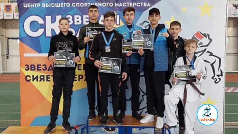 Николаевцы выиграли турнир «Звезды Олимпа» по тхэквондо