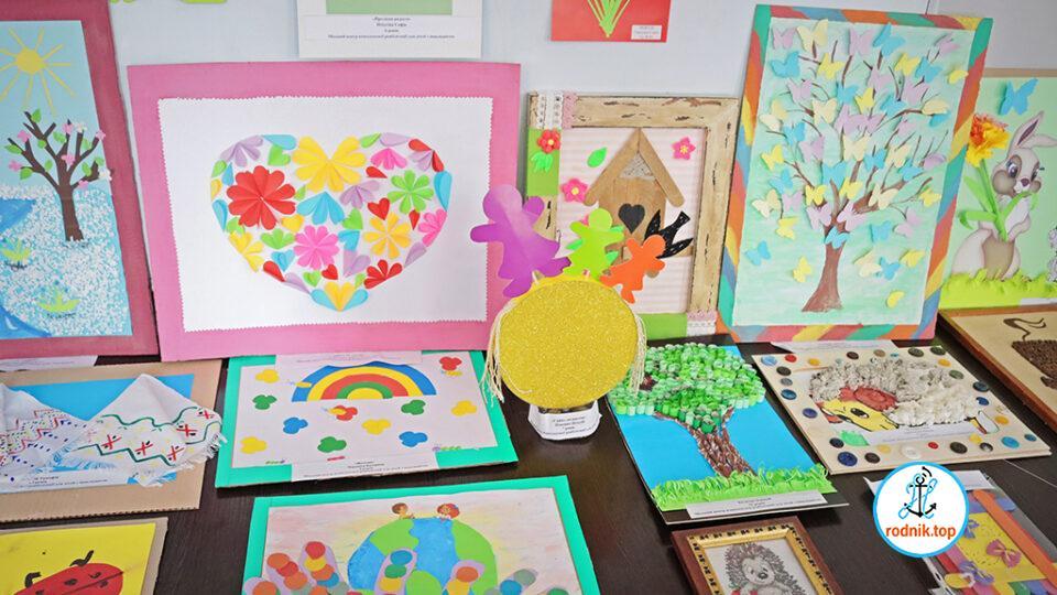 В Николаеве появилась выставка работ детей с инвалидностью