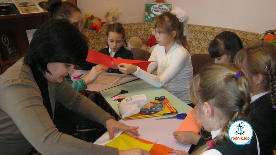 В николаевской библиотеке открыли кружок для детей